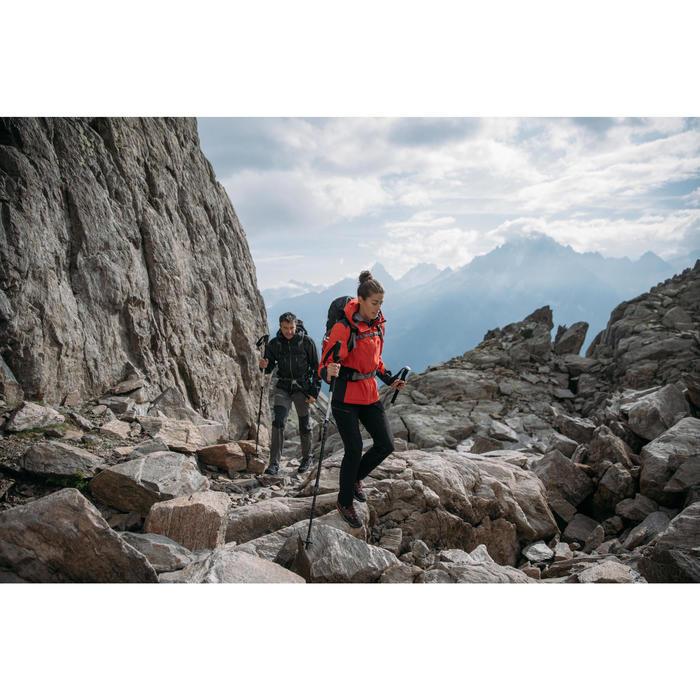Pantalón de senderismo montaña Mujer MH500 Ciruela