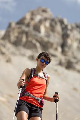 Short de excursionismo mujer Forclaz 500 negro