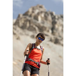 Damestop voor bergwandelen MH500 koraalrood