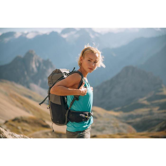 Débardeur de randonnée montagne Femme MH500 Bleu caraibes