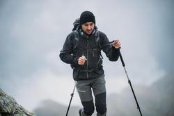MH500 Men's Mountain Hiking Pants - Black