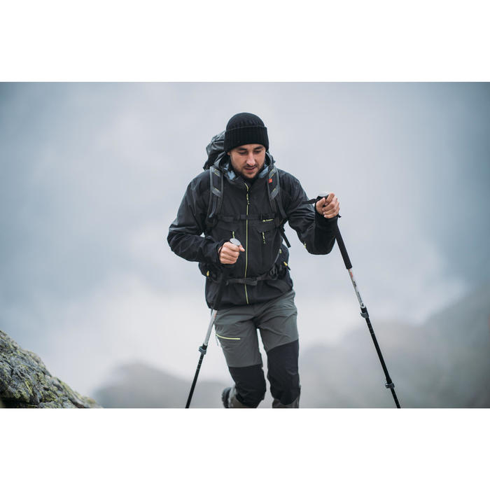 Waterdichte wandeljas MH900 voor heren zwart