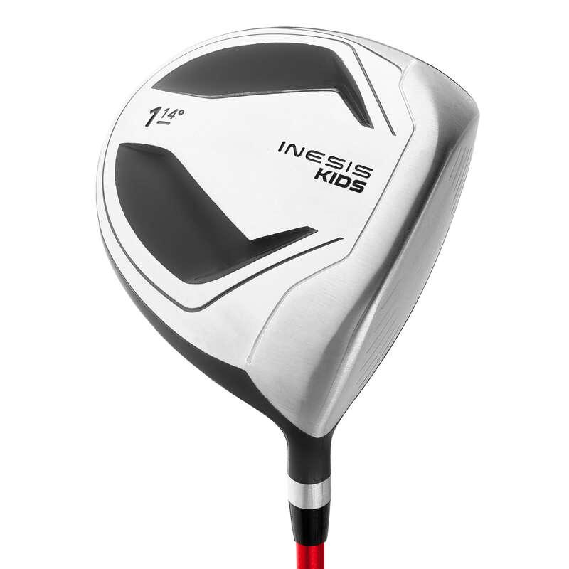 JUNIOR GOLF EQUIPMENT Golf - DRIVER 8-10 YEARS RIGHT-HANDER INESIS - Golf Clubs