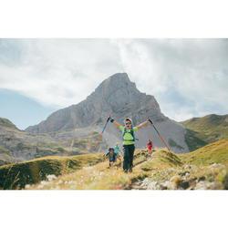 Wanderhose Bergwandern MH500 Kinder marineblau