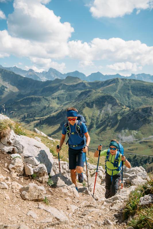 Kid's Hiking Sunglasses (Age 8-10 years) MHT500 Category 3 (Polarised) - Blue