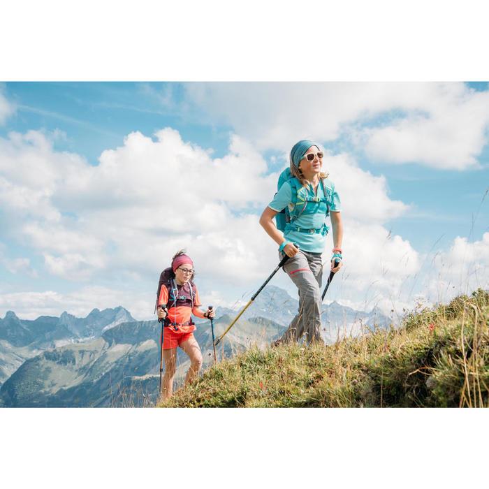 Pantalón Desmontable de Montaña y Trekking Quechua MH550 Niños Negro