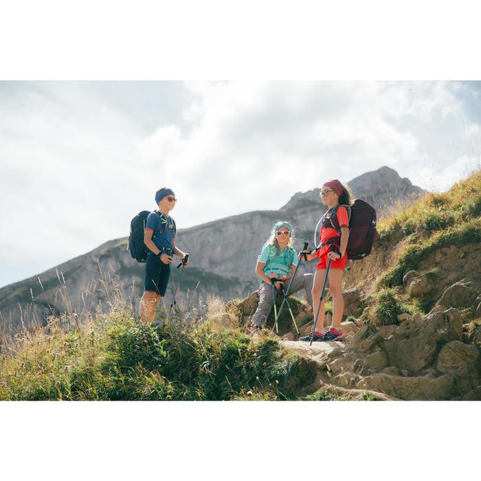Wanderschuhe Crossrock Schnürung Kinder Mädchen Gr. 35-38 türkis