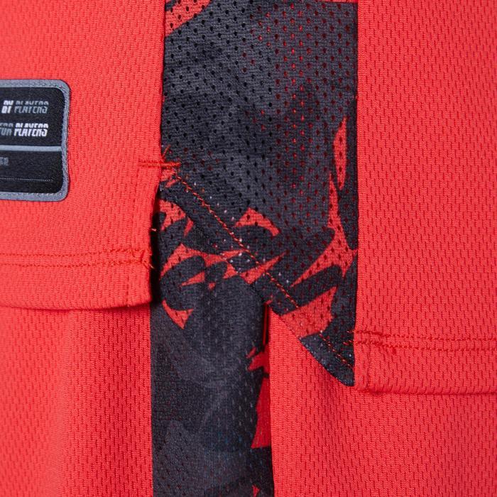 T500 Boys'/Girls' Intermediate Basketball Jersey - Red