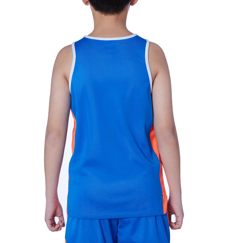 3f92ef709 T500R Boys  Girls  Intermediate Basketball Reversible Jersey - Blue White
