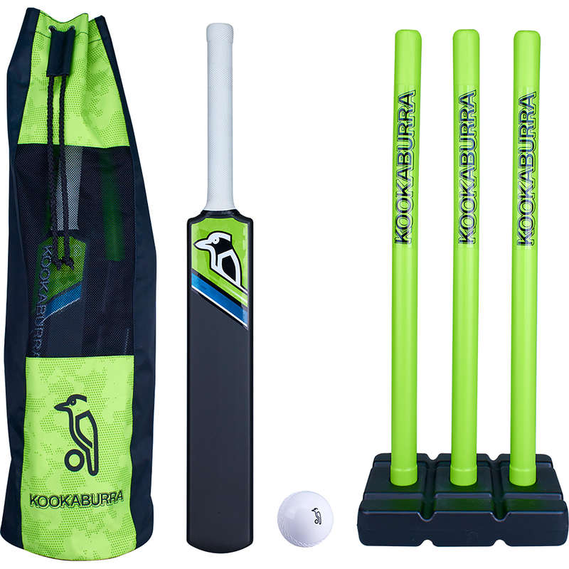 TENNIS BALL CRICKET BEGINNER BATS JR Cricket - Kookaburra Blast Cricket Set 2 KOOKABURRA - Cricket Equipment