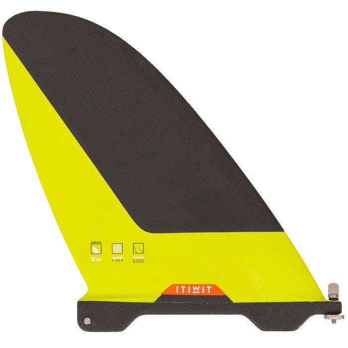 Carbon vin voor wedstrijd-supboard met US-box | gevorderden en experts