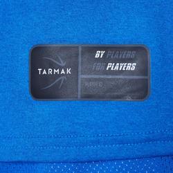 Camiseta Baloncesto Tarmak TS500 Niños Manga Corta Azul Eléctrico