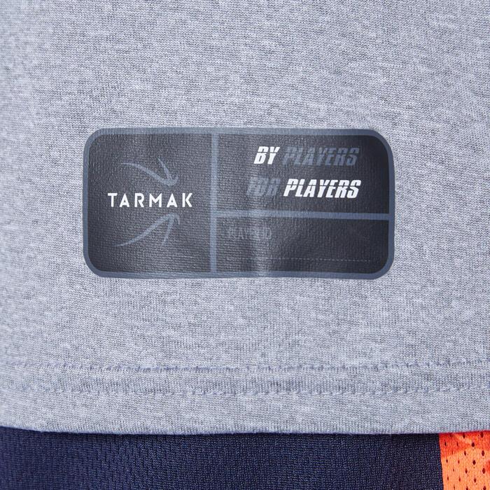 Basketbalshirt voor jongens/meisjes van gevorderd niveau TS500 schoen grijs