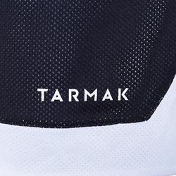 Intermediate Reversible Basketball Shorts - Dark Grey/Black