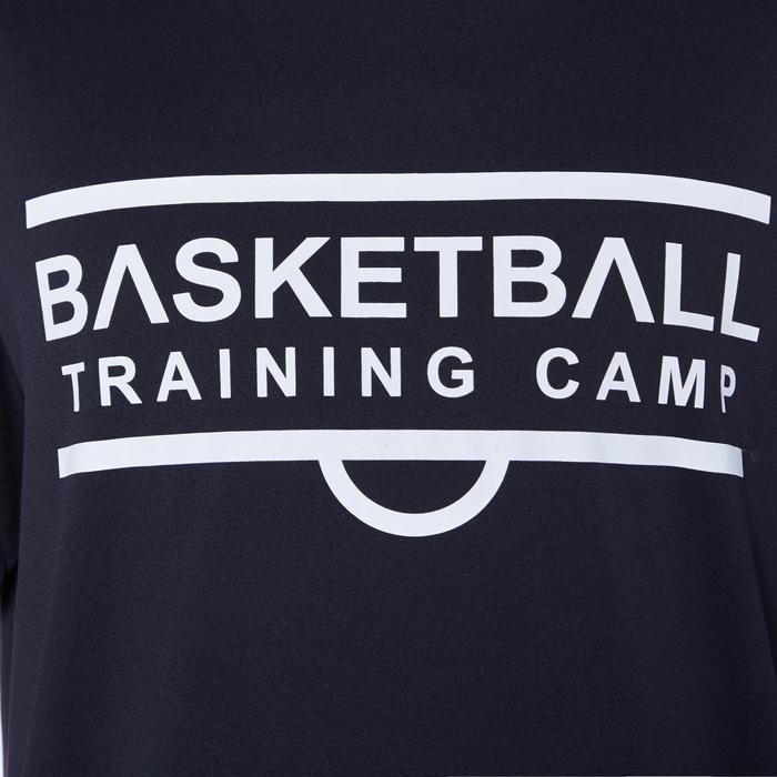 籃球上衣TS500-深灰色/Training Camp款