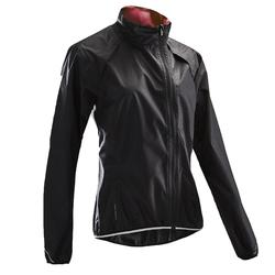Chaqueta impermeable ciclismo mujer 500 negra