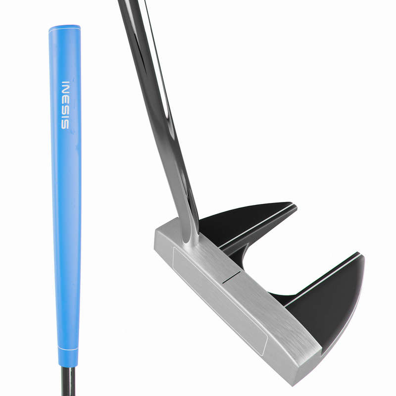GOLFUTRUSTNING JUNIOR Golf - Putter vänster 11-13 år Junior INESIS - Golfklubbor