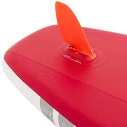 Opblaasbaar supboard voor tochten beginners 10 feet rood