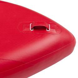 Tabla de Stand Up Paddle Hinchable Travesía Iniciación Itiwit 10' Rojo