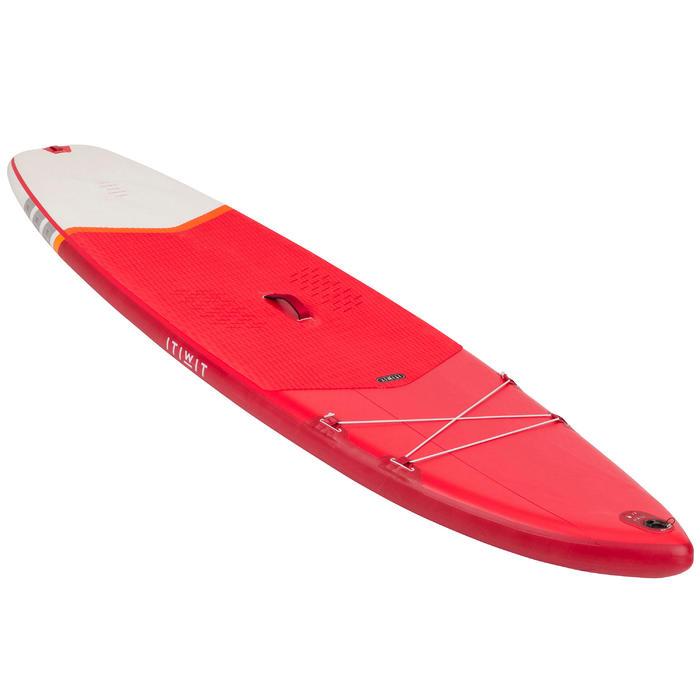 SUP-Board Stand Up Paddle aufblasbar Touring Einsteiger 10' rot