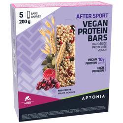 Eiwitreep After Sport Vegan rode vruchten 5x 40 g