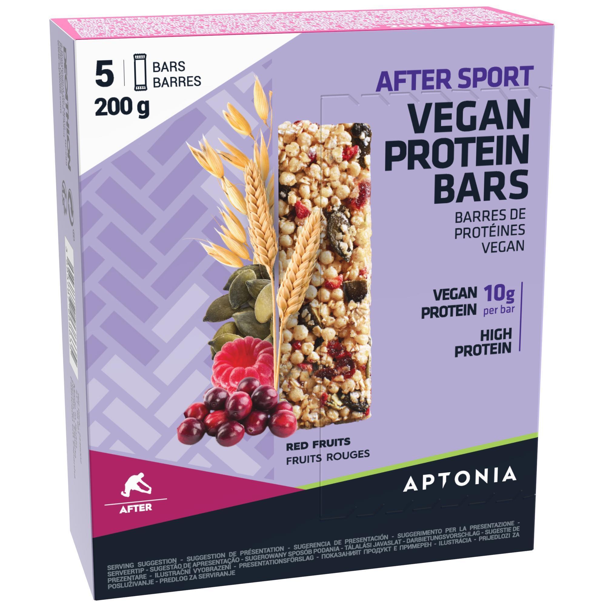 Proteinriegel After Sport Vegan Rote Früchte 5 × 40 g