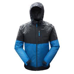 WInterjas heren SH100 X-warm blauw/grijs