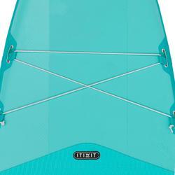 Sup board / opblaasbare SUP | Tot 230kg | 10 feet groen | Itiwit