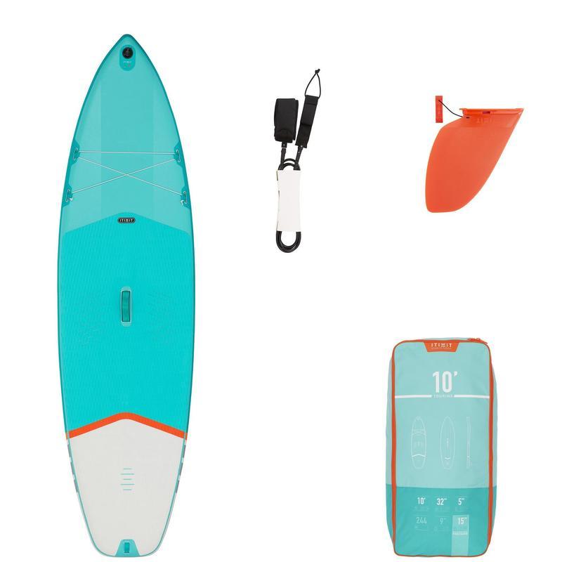 Deska turystyczna Stand Up Paddle Itiwit X100 10' pneumatyczna