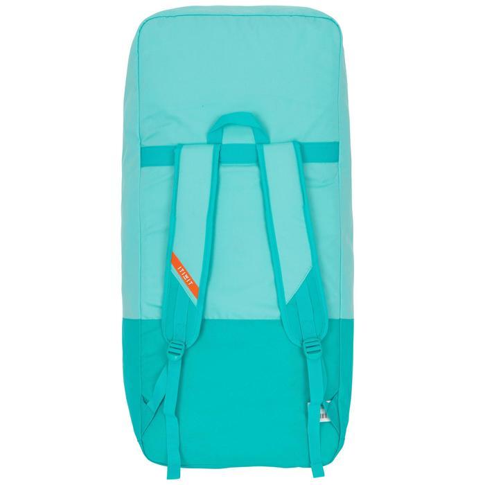Opblaasbaar supboard voor tochten beginners 10 feet groen