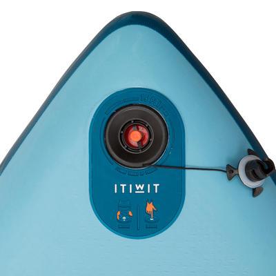 Tabla de Stand Up Paddle inflable De Travesía Iniciación Itiwit 11' Azul