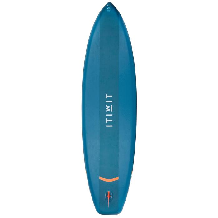 Tabla de Stand Up Paddle Hinchable De Travesía Iniciación Itiwit 11' Azul