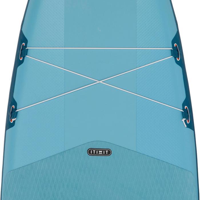 SUP-Board Stand Up Paddle aufblasbar Touring Einsteiger 11' blau