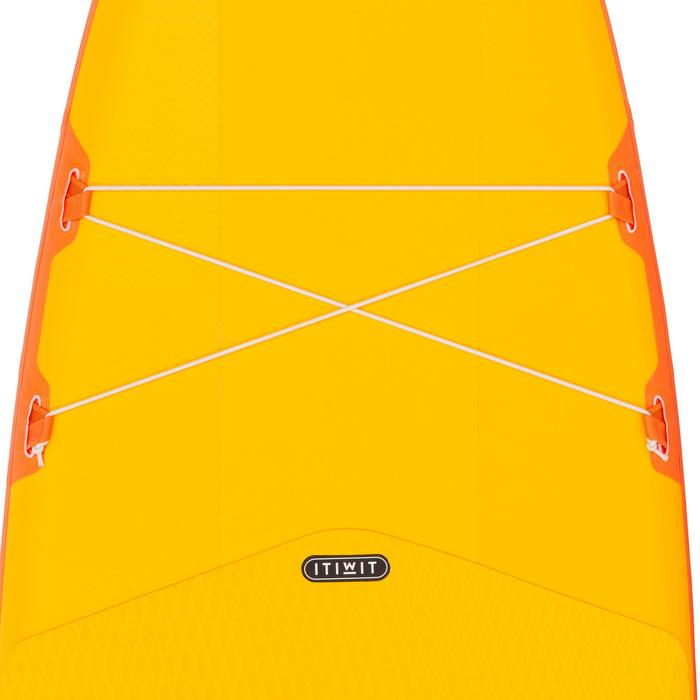Tabla de Stand Up Paddle Hinchable De Travesía Iniciación Itiwit 11' Amarillo