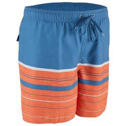 Boardshort voor heren Aquastripe 17' Quiksilver blauw