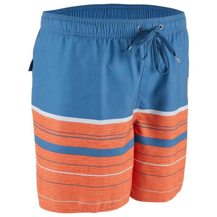 Boardshorts Aquastripe 17' Herren blau