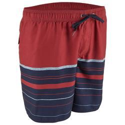 Boardshort voor heren AQUASTRIPE 17' Quicksilver rood