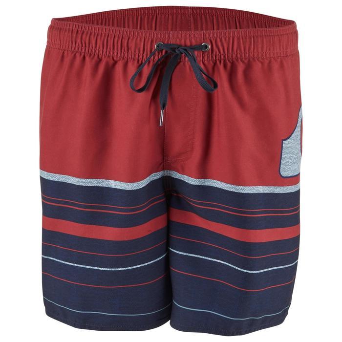 Boardshorts Aquastripe 17' Herren rot