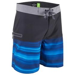 Boardshort voor heren HIGHLINE 18' stretch Quicksilver blauw