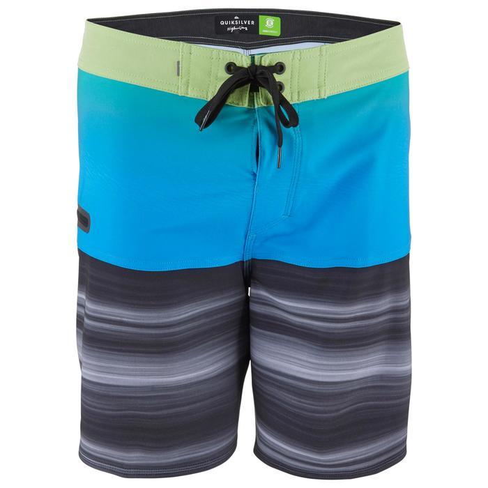 Boardshort voor heren HIGHLINE 18' stretch Quicksilver malibublauw