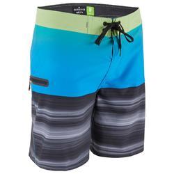Boardshort voor heren HIGHLINE 18' stretch Quicksilver blauw
