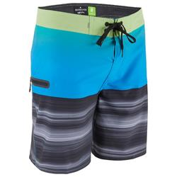 Boardshort voor heren HIGHLINE 18' stretch Quicksilver malibublauw