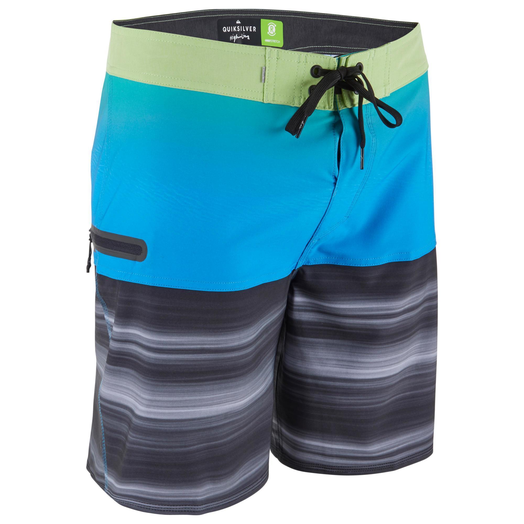 Boardshorts Highline 18´ Stretch Malibu Herren blau | Bekleidung > Bademode > Boardshorts | Quiksilver
