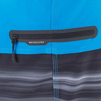Boardshort Homme HIGHLINE 18' stretch Quiksilver bleu malibu