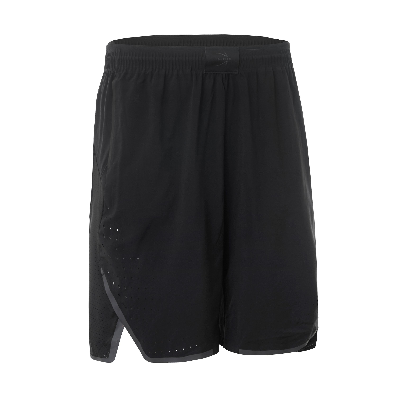 Basketballshorts SH900 Herren Profi schwarz | Sportbekleidung > Sporthosen > Basketballshorts | Schwarz | Tarmak