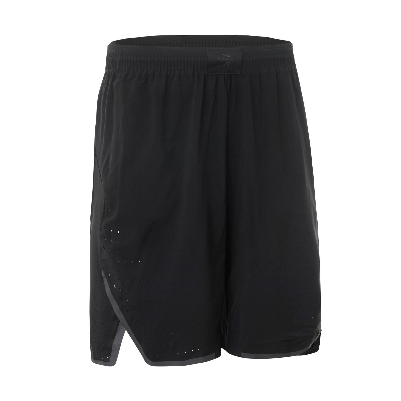 Tarmak Basketbalshort SH900 zwart (heren)