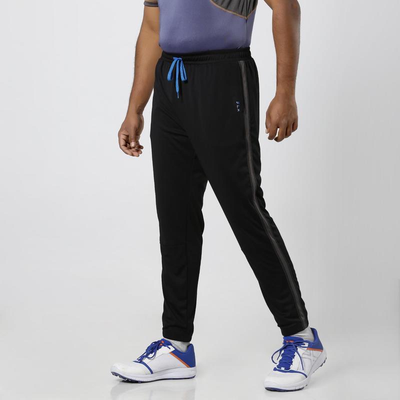 Track Pants, Slim Fit, TPR 500, Adults, Cricket & All Sports, Black