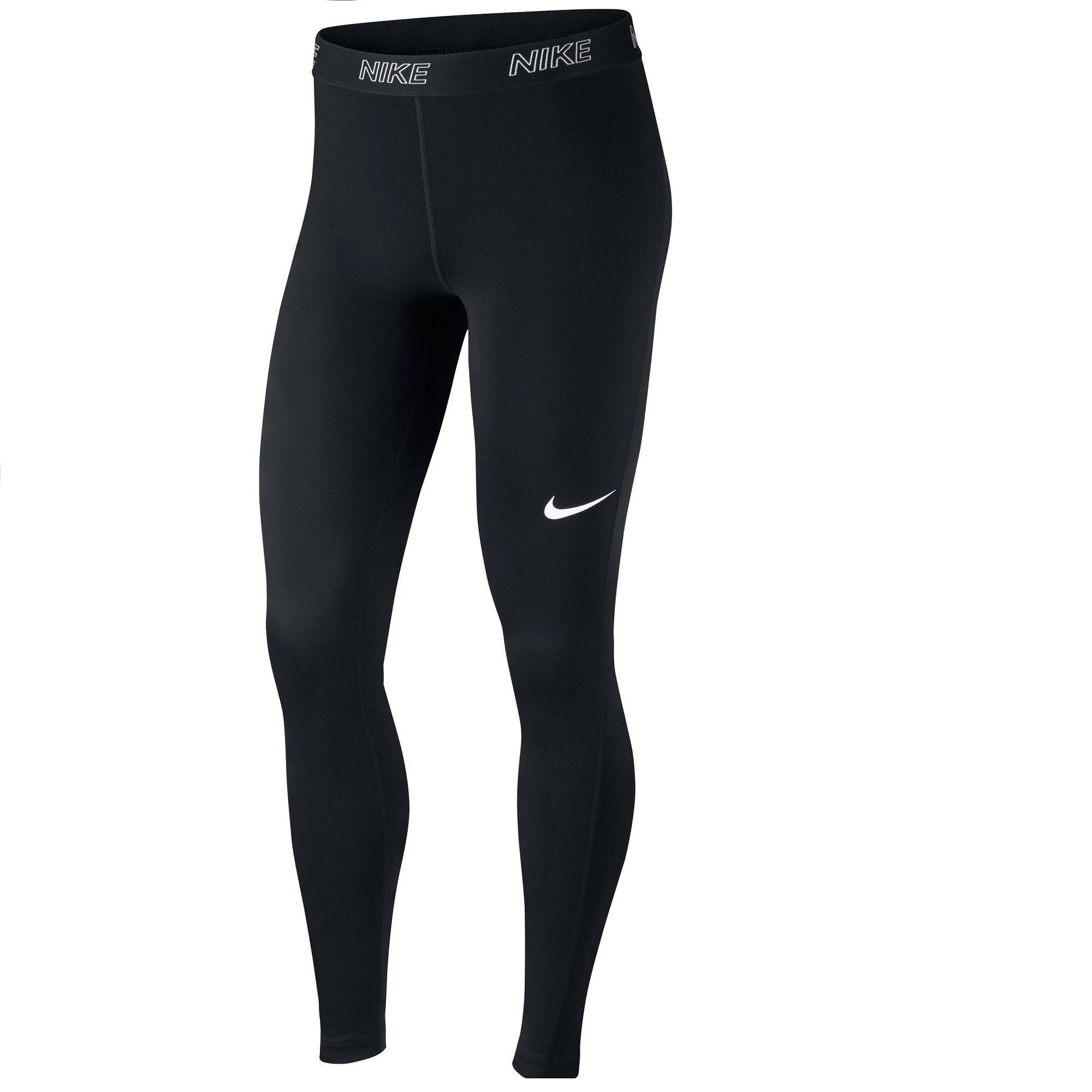 comprar auténtico apariencia estética precio baratas Mallas Leggings Deportivos Cardio Fitness Nike DRI FIT mujer negro