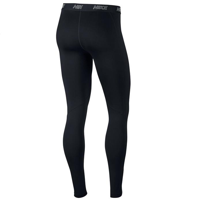 Leggings Fitness Cardio Damen schwarz