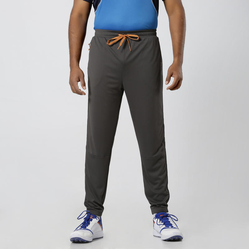 Track Pants, Slim Fit, TPR 500, Adults, Cricket & All Sports, Grey
